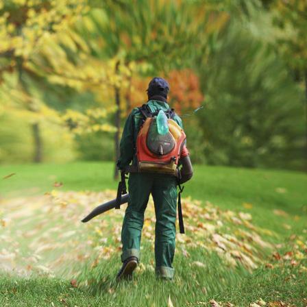 Leaf Blower operator