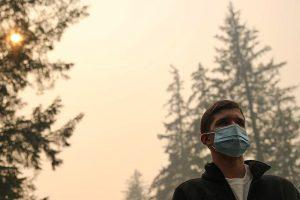 smoke and haze